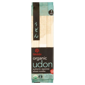Hakubaku No Salt Added Organic Udon 9.5 oz