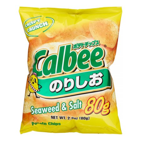 Calbee Potato Chips Salt & Seaweed
