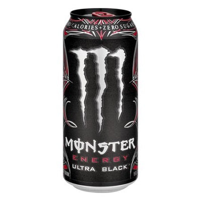 Monster Energy Ultra Black Drink