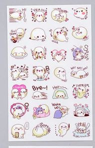 Kawaii Seal Stickers 6 Sheets