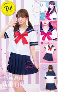 Cosplay Sailor Blouse