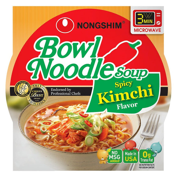N.S Bowl Noodle Spicy Kimchi