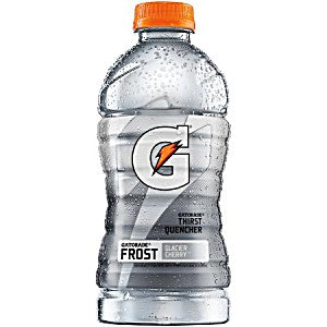 Gatorade Glacier Cherry 32oz bottle