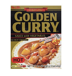 Curry Golden Retort Hot 8.1oz SB