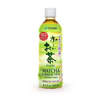 Itoen Unsweetened Matcha Green Tea