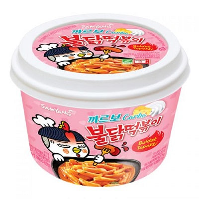Samyang Hot Chicken Carbo Topokki Cup 185g