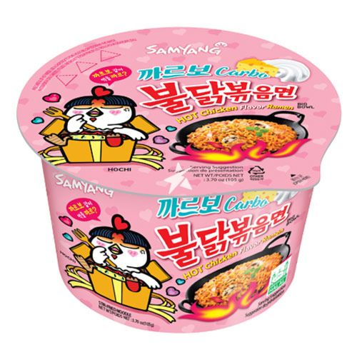 Samyang Hot Chicken Carbo Ramen Bowl
