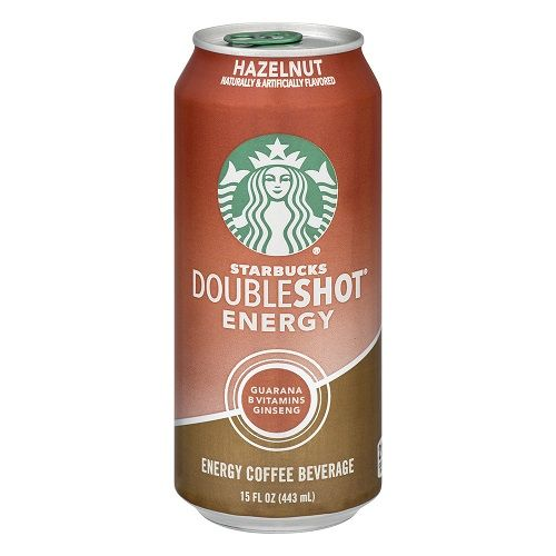 Starbucks Doubleshot Hazelnut 15oz can
