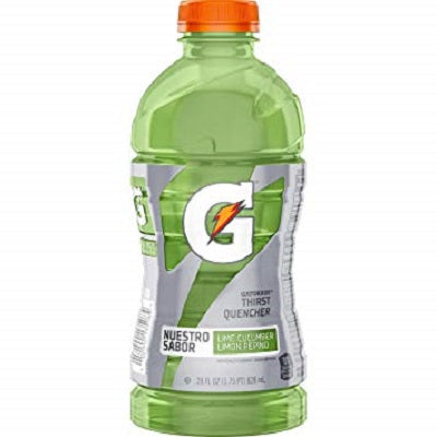 Gatorade lime cucumber 28 oz bottle