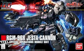 1/144 HG RGM-96X Jesta Cannon EFSF Special Operations Mobile Suite