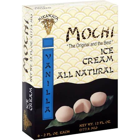 Mochi Ice Cream Vanilla