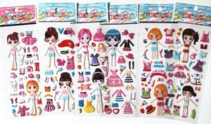 Sailor Moon Strawberry Girl Doll Stickers