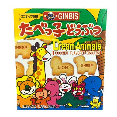 Ginbis Animal Biscuits Coconuts