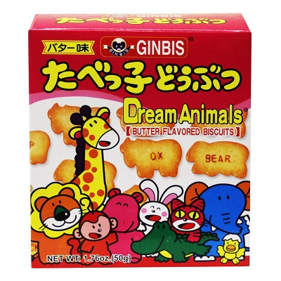 Ginbis Animal Biscuits Butter