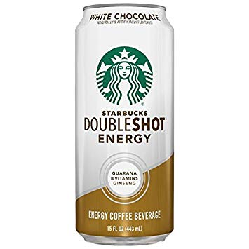 Starbucks Doubleshot White Chocolate 15oz can