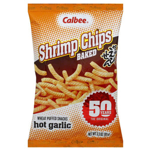 Calbee Shrimp Chips Garlic