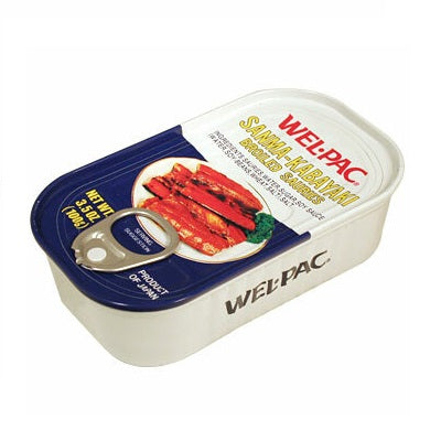WelPac Broiled Sauries 3.5 oz can