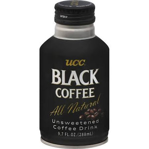 UCC Black Coffee Can