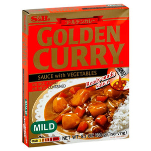 Curry Golden Retort Mild 8.1oz SB
