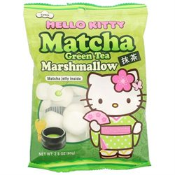 Hellow Kitty Matcha marshmallows