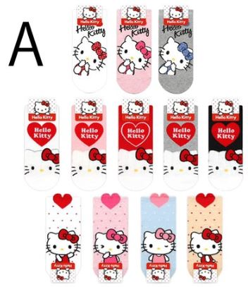 Hello Kitty Socks Ladies