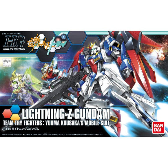 Gundam Lightning Z Gundam Team Try Fighters: Yuuma Kousaka's Mobile Suit