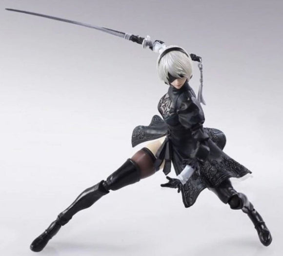 NieR Automata YoRHa No. 2 Type B 2B fighting action figure