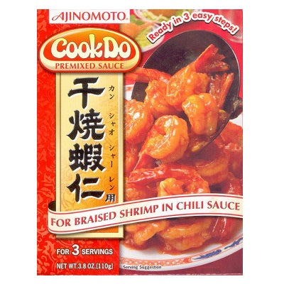 Ajinomoto CookDo Premixed Sauce Chili Shrimp 3.8oz