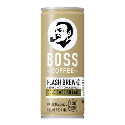 Boss Cold Cafe Au Lait Coffee Can