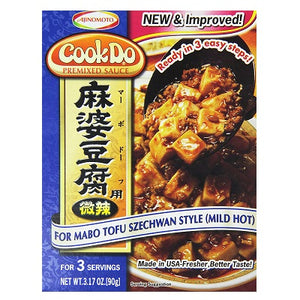 Ajinomoto CookDo Mix Mabo Tofu Mild-Hot Blue