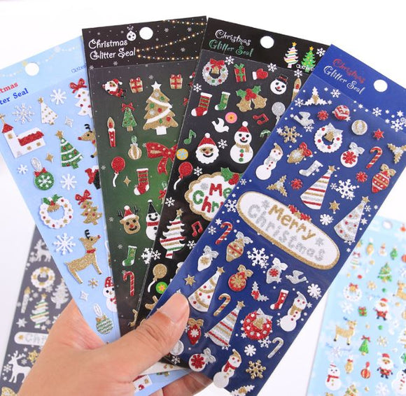 Christmas Party Stickers