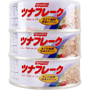 Tuna Flake in Oil (3 pk)