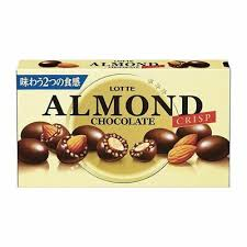 Lotte Almond Chocolate Crisp