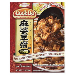 Ajinomoto CookDo Premixed Mabo Tofu Med-Hot Red