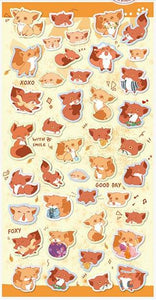 Nekoni Original Design Stickers Fox