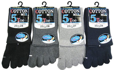 MMS Cotton Mix 5 Toes Socks