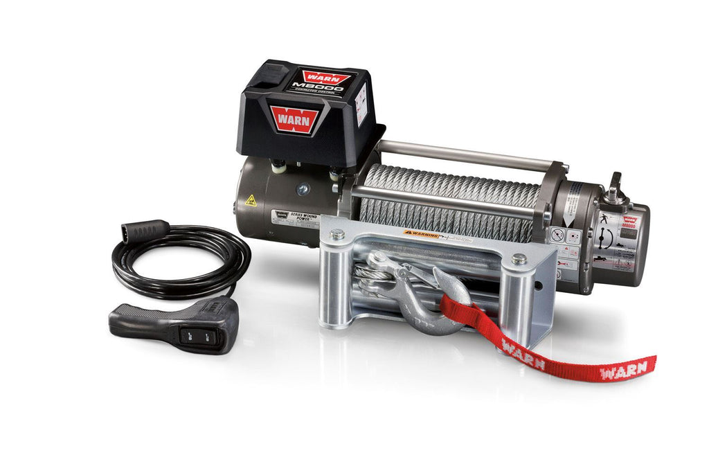 WARN M8 INDUSTRIAL WINCH - 26502 - Free Shipping on orders over $100 - Venture Overland Company