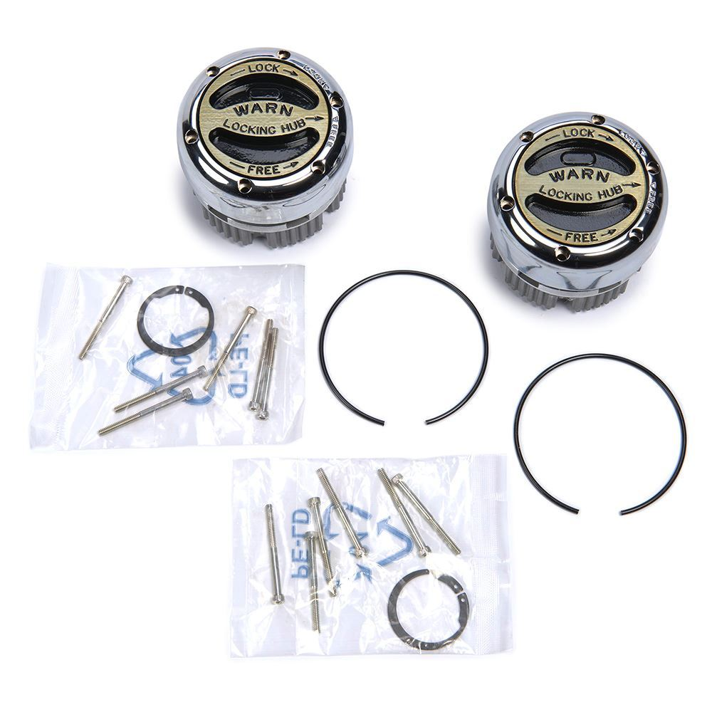 WARN PREMIUM LOCKING HUB - 19 SPLINE - 20990 - Free Shipping on orders over $100 - Venture Overland Company