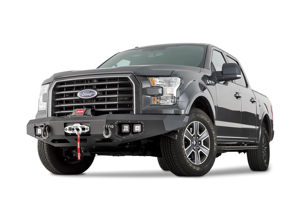 WARN ASCENT FRONT BUMPER FOR 15-17 FORD F-150 - 100915 - Free Shipping on orders over $100 - Venture Overland Company