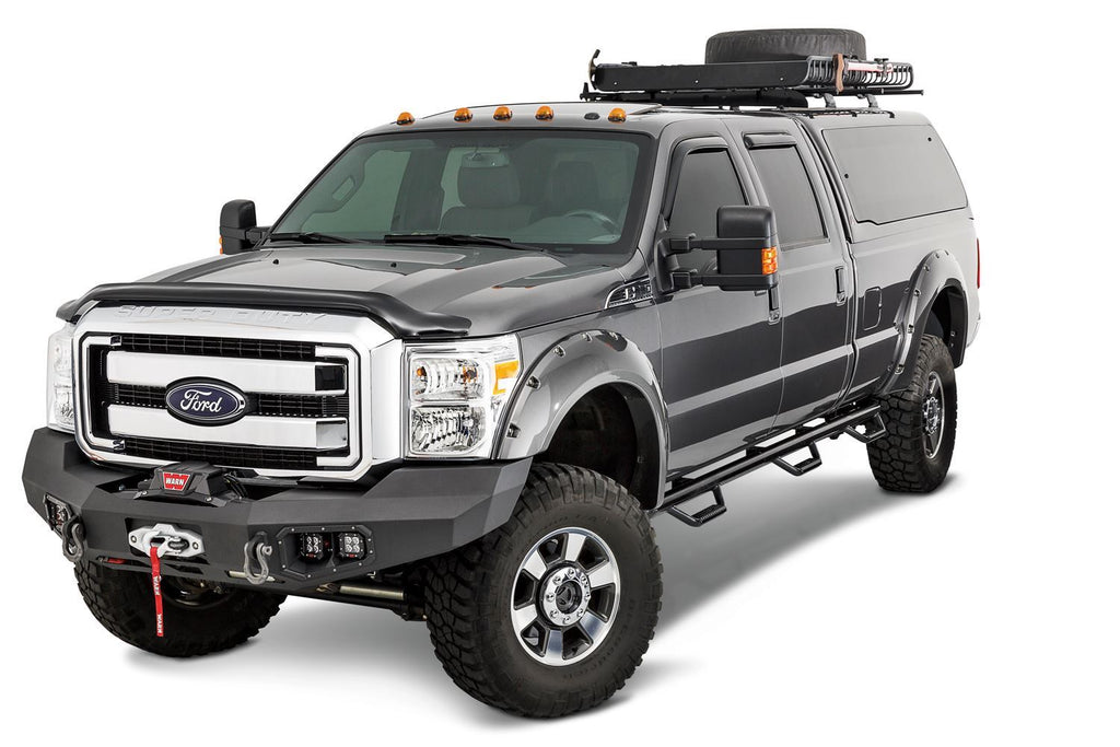 WARN ASCENT FRONT BUMPER FOR FORD SUPER DUTY - 100917 - Free Shipping on orders over $100 - Venture Overland Company