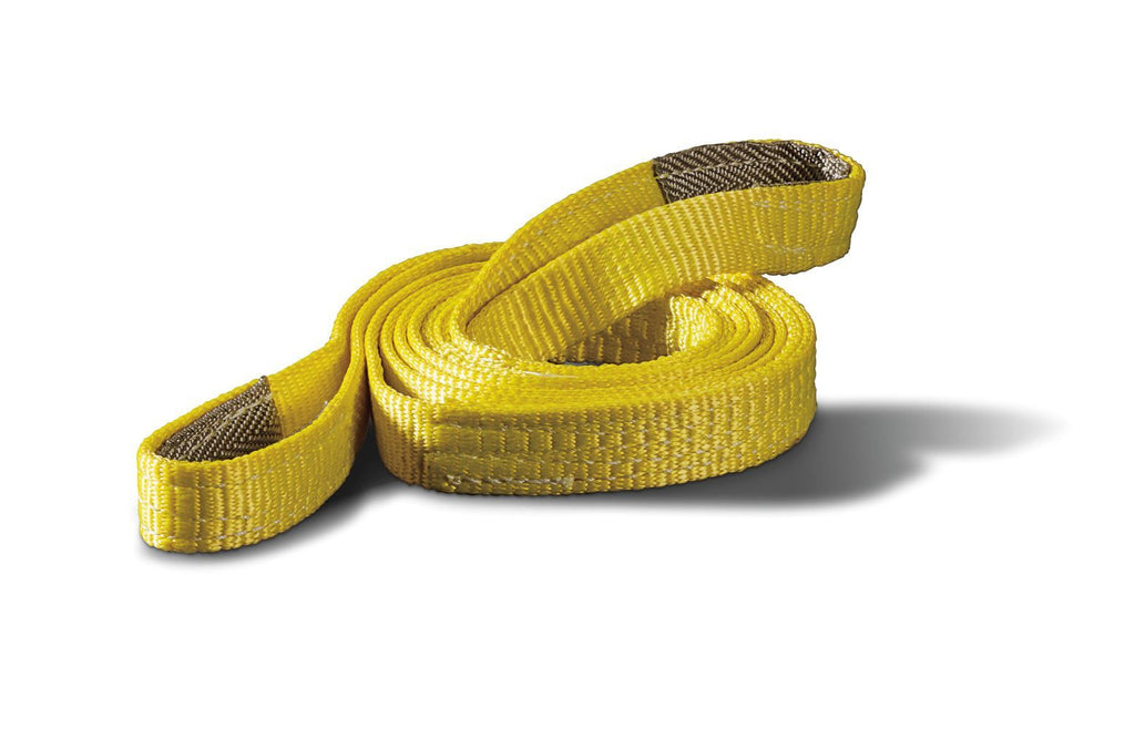 "WARN RIGGING TREE TRUNK STRAP 1"" X 8', 6400 LB, YELLOW -88896 - Free Shipping on orders over $100 - Venture Overland Company"