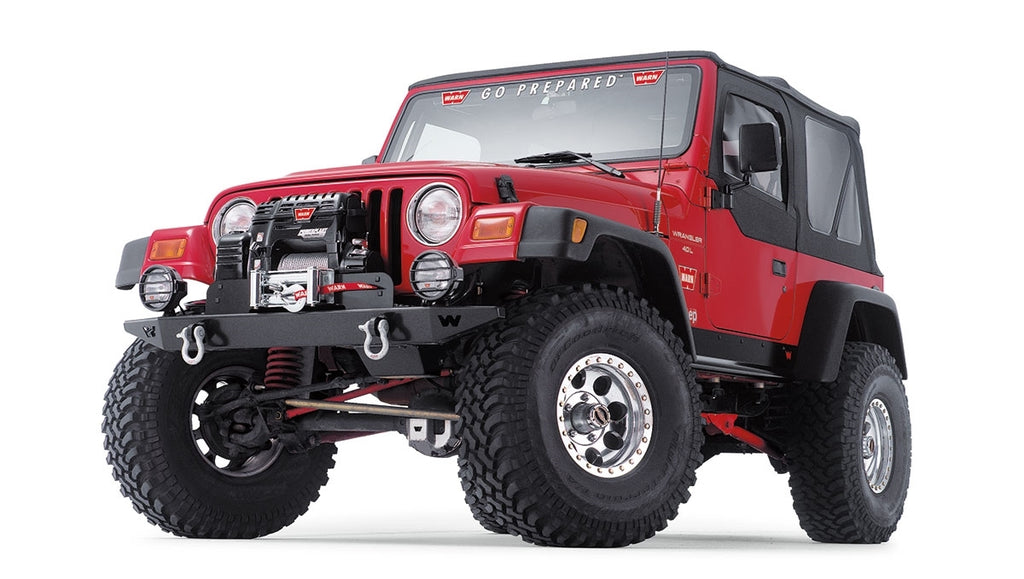 WARN ROCK CRAWLER FRONT BUMPER FOR JEEP TJ WRANGLER - 61853 - Free Shipping on orders over $100 - Venture Overland Company
