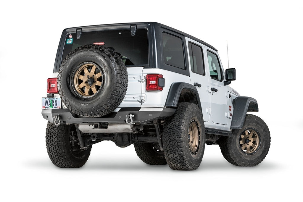 WARN ELITE REAR BUMPER FOR JEEP JL - 102410 - Free Shipping on orders over $100 - Venture Overland Company