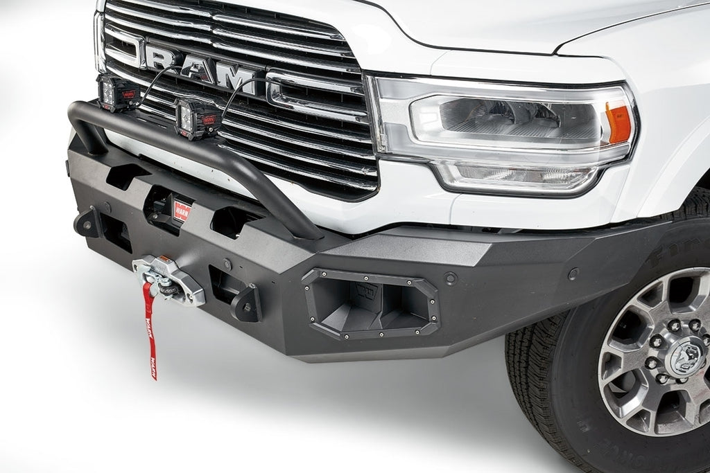 WARN ASCENT FRONT BUMPER FOR 2019-20 DODGE RAM - 104256 - Free Shipping on orders over $100 - Venture Overland Company