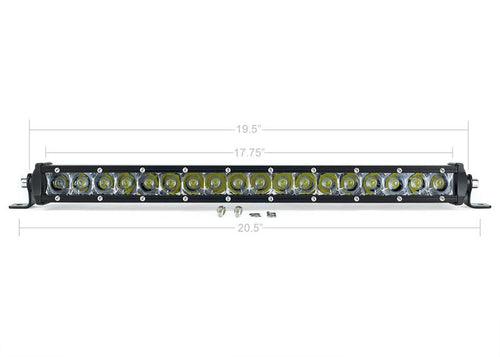 "20"" SLIM SINGLE ROW LED BAR"