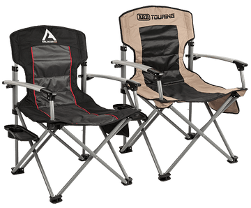 ARB CAMP CHAIR WITH SMALL DETACHABLE SIDE TABLE
