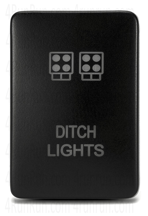 "2014-2020 TOYOTA TUNDRA OEM STYLE ""DITCH LIGHTS"" SWITCH"
