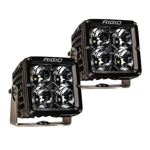 RIGID INDUSTRIES RADIANCE POD XL - BLACK CASE W/WHITE BACKLIGHT - PAIR
