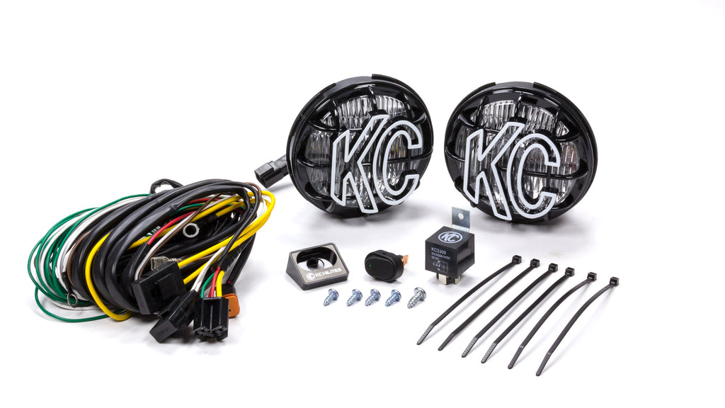 "KC Hilites 452 5"" Apollo Pro Fog Light Kit (Pair) 55 Watt - Free Shipping on orders over $100 - Venture Overland Company"