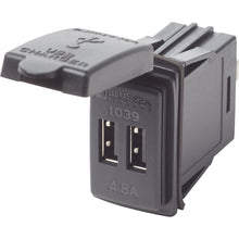 Load image into Gallery viewer, BLUE SEA DUAL USB CHARGER - 24V CONTURA MOUNT - Free Shipping on orders over $100 - Venture Overland Company